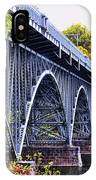 Strawberry Mansion Bridge Fall View IPhone Case
