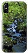 Stream Flowing Through A Forest IPhone Case