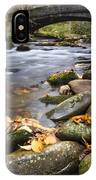 Stream In The Great Smokie Mountain National Park IPhone Case