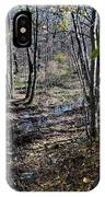 Stream In The Woods IPhone Case