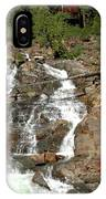 Streaming Glen Alpine Falls IPhone Case
