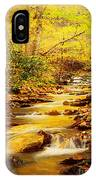 Streams Of Gold IPhone Case