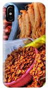 Street Food Snacks In Seoul IPhone Case