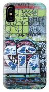 Street Graffiti - Tubs Let Loose IPhone Case