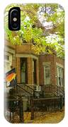 Windsor Terrace IPhone Case