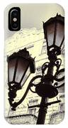 Street Lamps Of Budapest Hungary IPhone Case