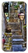 Street Lane In Dubrovnik Croatia IPhone Case