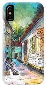 Street Life In Nicosia IPhone Case