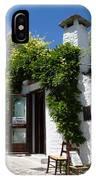 Street Scene In Alberobello IPhone Case