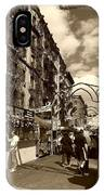 Streets Of Little Italy IPhone Case