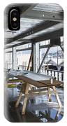 Structural Steel Construction. Metal IPhone Case