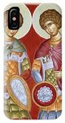 Sts Dimitrios And George IPhone Case
