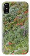 Subalpine Wildflowers IPhone Case