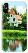 Suburban House With Reflection IPhone Case