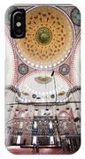 Suleymaniye Mosque Interior IPhone Case