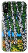Summer Birches IPhone Case