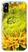Summer Floral Art Prints Yellow Sunflower IPhone Case