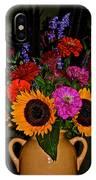 Summer Flower Bouquet IPhone Case