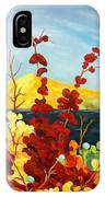 Summer Foliage IPhone Case