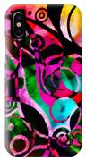 Summer Introspection Of An Extrovert Triptych Horizontal IPhone Case