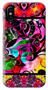 Summer Introspection Of An Extrovert Triptych Vertical IPhone Case