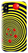 Summer Red Balls With Yellow Spiral IPhone Case