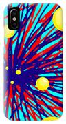 Summer Splat With Yellow Balls IPhone Case