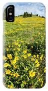 Summer Splendor In Yellowstone IPhone Case