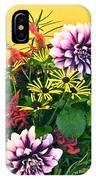 Summer To Autumn Bouquet IPhone Case