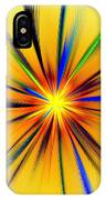Sun Behind The Palm Leaves IPhone Case