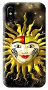 Sun Face  IPhone Case