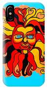Sun God II IPhone Case