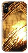 Sun In Grass Panoramic IPhone Case