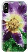 Sunburst In Lavender IPhone Case