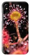 Sundew, Vancouver Island, British IPhone Case