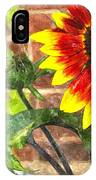 Sunflower 2 Sf2wc IPhone Case