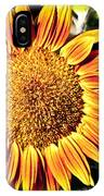 Sunflower And Bud IPhone Case