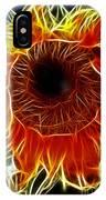Sunflower Fractal IPhone Case