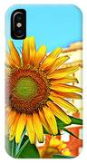 Sunflower In The City IPhone Case