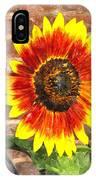 Sunflower Sfwc IPhone Case