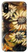 Sunflowers 12 Square Painting IPhone Case