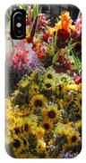Sunflowers And Glads IPhone Case