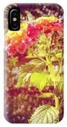 #sunlight #beautiful #flower IPhone Case