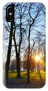 Sunlight Between The Trees IPhone Case