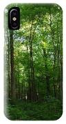 Sunlit Forest IPhone Case