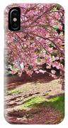 Sunny Patch Under The Cherry Trees IPhone Case
