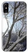 Sunny Snow Day 1 IPhone Case