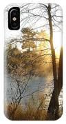 Sunrise Across The Mississippi IPhone Case