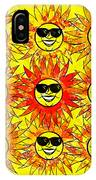 Suns Party IPhone Case