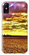 Sunset At Danshui Hdr IPhone Case